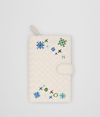 MIST INTRECCIATO MEADOW FLOWER MINI WALLET