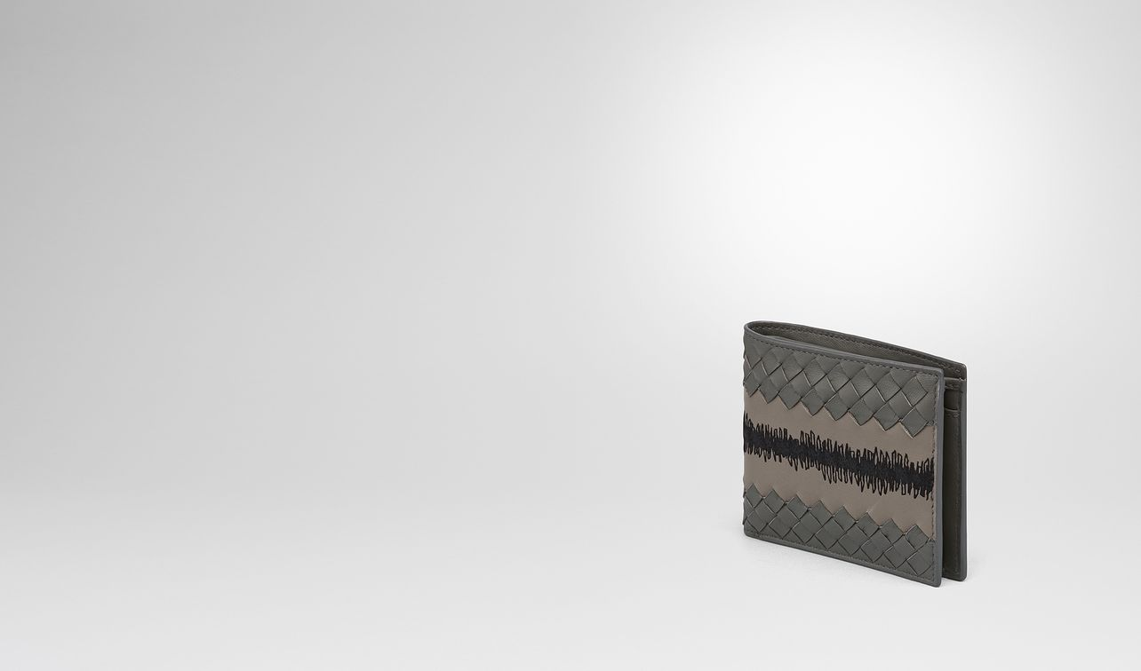 light grey intrecciato nappa wallet landing