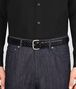 BOTTEGA VENETA NERO CALF BELT Belt Man ap