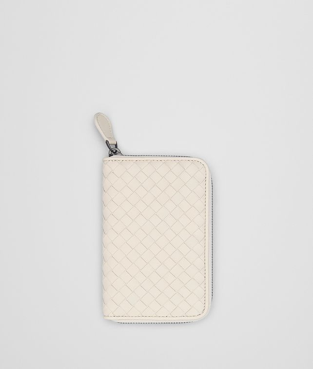 BOTTEGA VENETA MIST INTRECCIATO NAPPA CONTINENTAL WALLET Zip Around Wallet [*** pickupInStoreShipping_info ***] fp