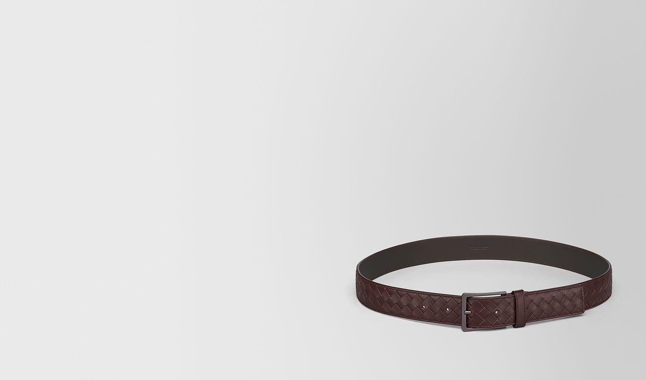 dark barolo intrecciato belt landing