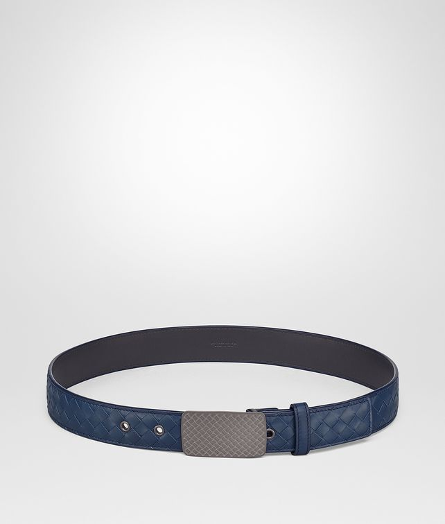 BOTTEGA VENETA PACIFIC INTRECCIATO CALF BELT Belt Man fp