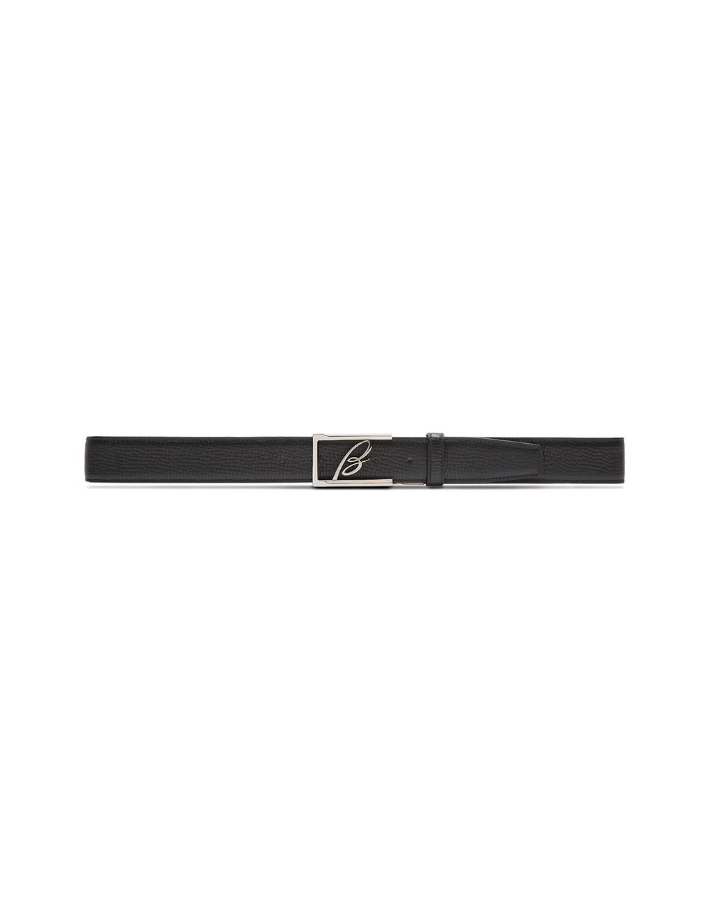 BRIONI Black Adjustable and Reversible Logoed Belt Belt U e