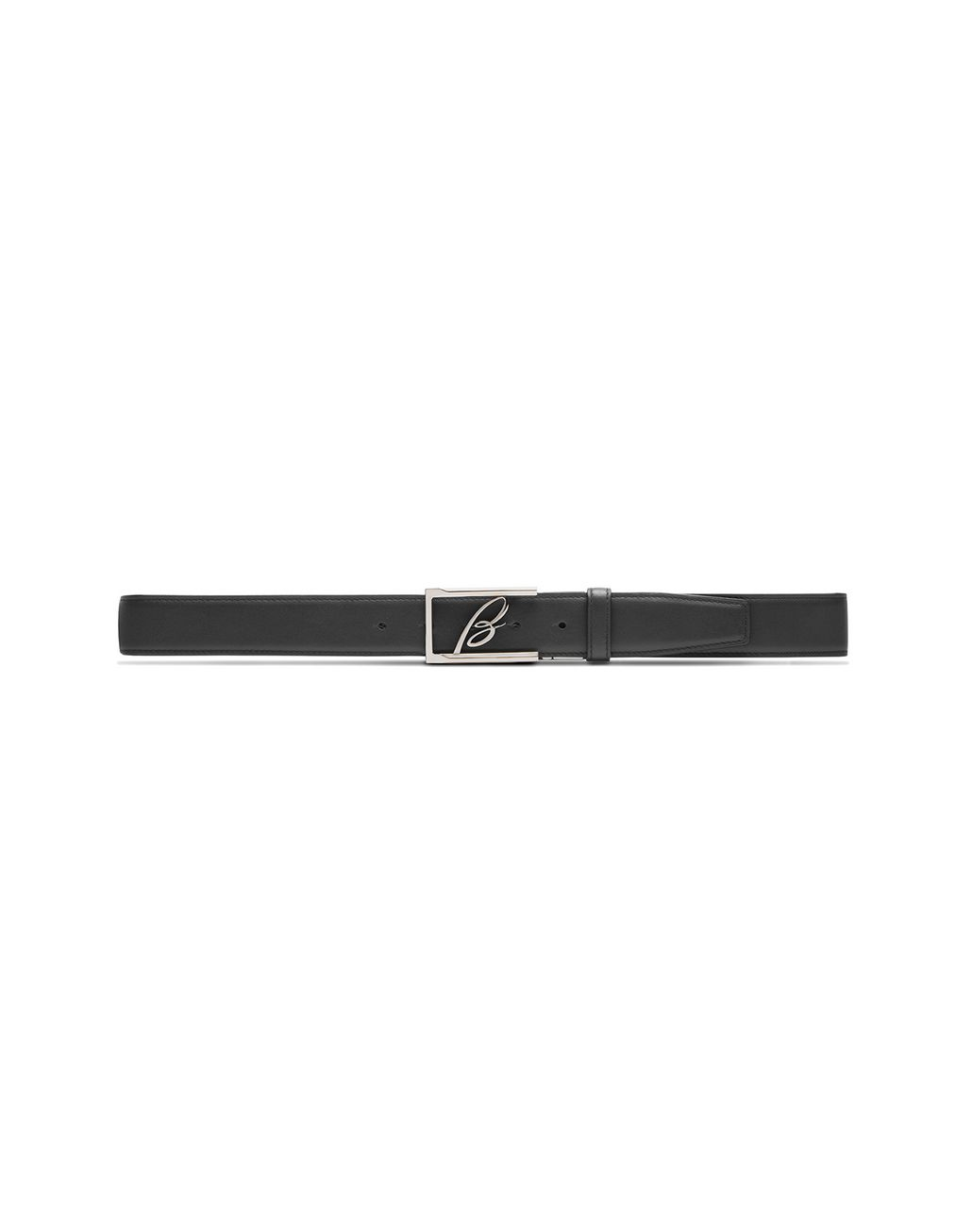 BRIONI Black Adjustable and Reversible Logoed Belt Belt U f