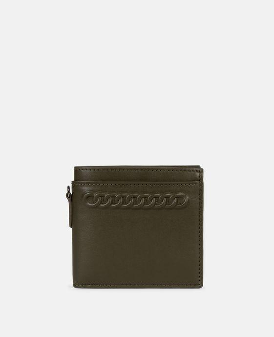 Embossed Falabella Wallet