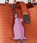 BOTTEGA VENETA TWILIGHT NAPPA DOG KEY RING Keyring or Bracelets E ap