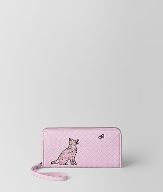 DRAGEE NAPPA ZIP-AROUND WALLET