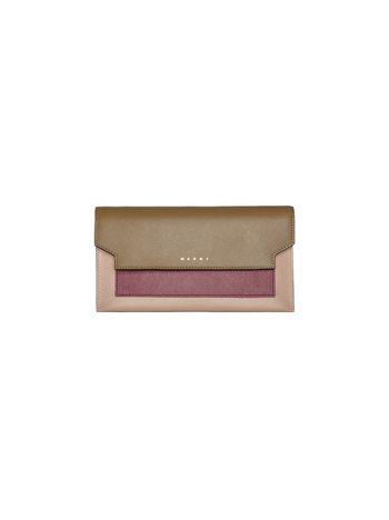 Marni Continental pochette in Saffiano leather  Woman