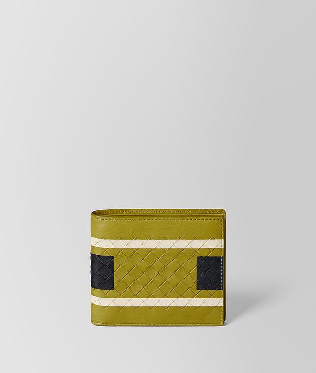 BOTTEGA VENETA CHAMOMILE SOFTLUX CALF BI-FOLD WALLET Bi-fold Wallet Man fp