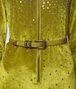 ceinture en cuir crocodile chamomile Photo détaillée de l'avant