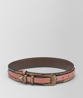 MULTICOLOR AYERS PATCHWORK BELT