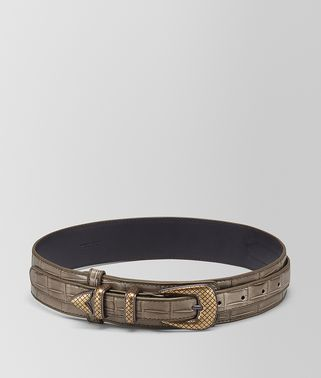 STEEL CROCODILE BELT