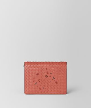 HIBISCUS INTRECCIATO NAPPA AYERS CHAIN WALLET