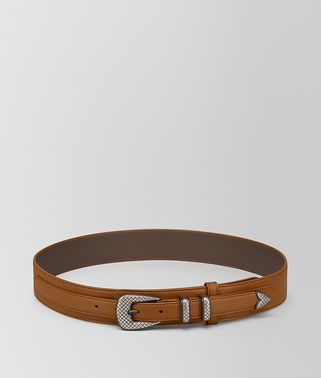 LIGHT CALVADOS FRENCH CALF BELT