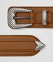 BOTTEGA VENETA LIGHT CALVADOS FRENCH CALF BELT Belt Man rp