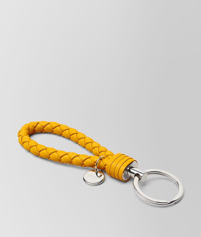 BOTTEGA VENETA SUNSET INTRECCIATO NAPPA KEY HOLDER Keyring or Bracelets E fp