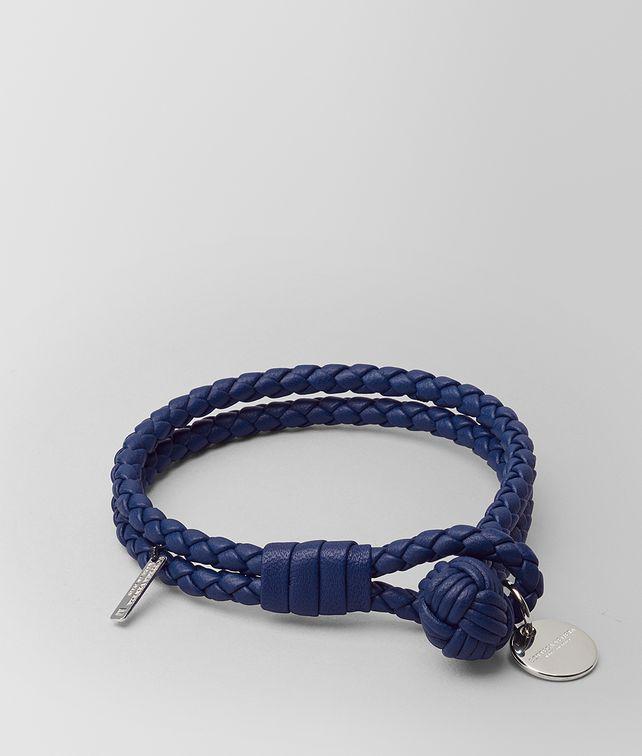 BOTTEGA VENETA ATLANTIC INTRECCIATO NAPPA BRACELET Keyring or Bracelets E fp