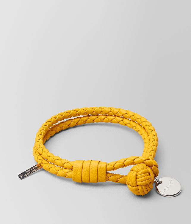 BOTTEGA VENETA SUNSET INTRECCIATO NAPPA BRACELET Other Accessories E fp