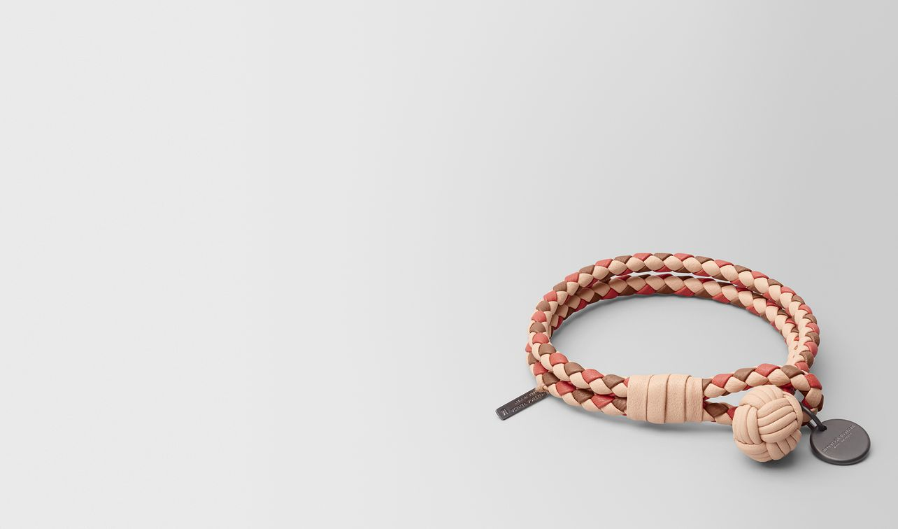 peach rose intrecciato lamb club bracelet landing