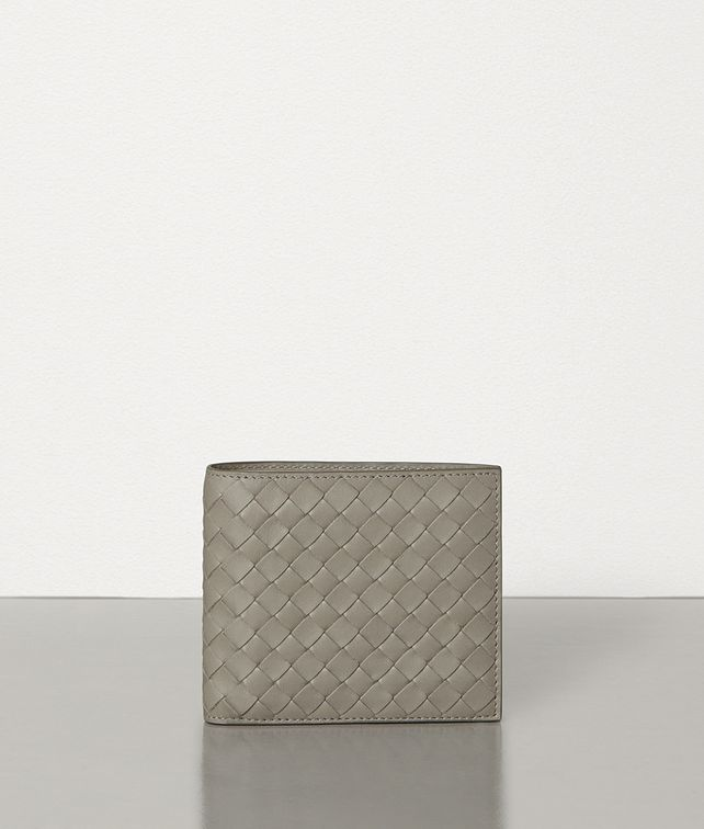 BOTTEGA VENETA DARK CEMENT INTRECCIATO VN WALLET Bi-fold Wallet [*** pickupInStoreShippingNotGuaranteed_info ***] fp