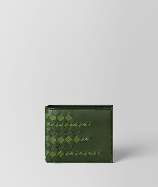 BOTTEGA VENETA FOREST/FERN NAPPA WALLET Bi-fold Wallet [*** pickupInStoreShippingNotGuaranteed_info ***] fp