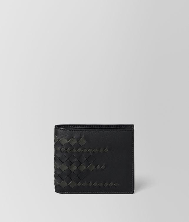 BOTTEGA VENETA NERO/ARDOISE NAPPA WALLET Bi-fold Wallet Man fp