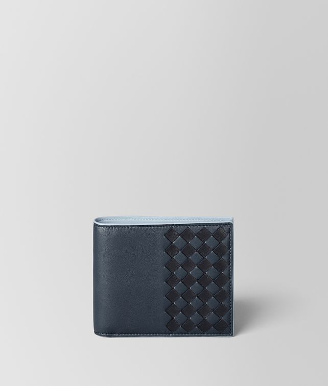 BOTTEGA VENETA MULTICOLOR CHECKER NAPPA WALLET Bi-fold Wallet Man fp