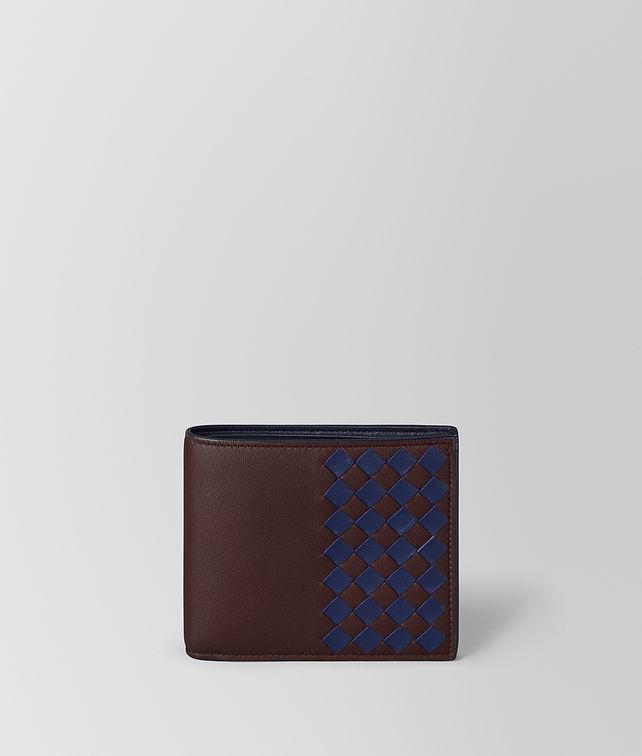 BOTTEGA VENETA MULTICOLOR CHECKER NAPPA WALLET Bi-fold Wallet [*** pickupInStoreShippingNotGuaranteed_info ***] fp