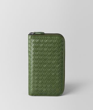 FERN INTRECCIATO VN ZIP AROUND WALLET