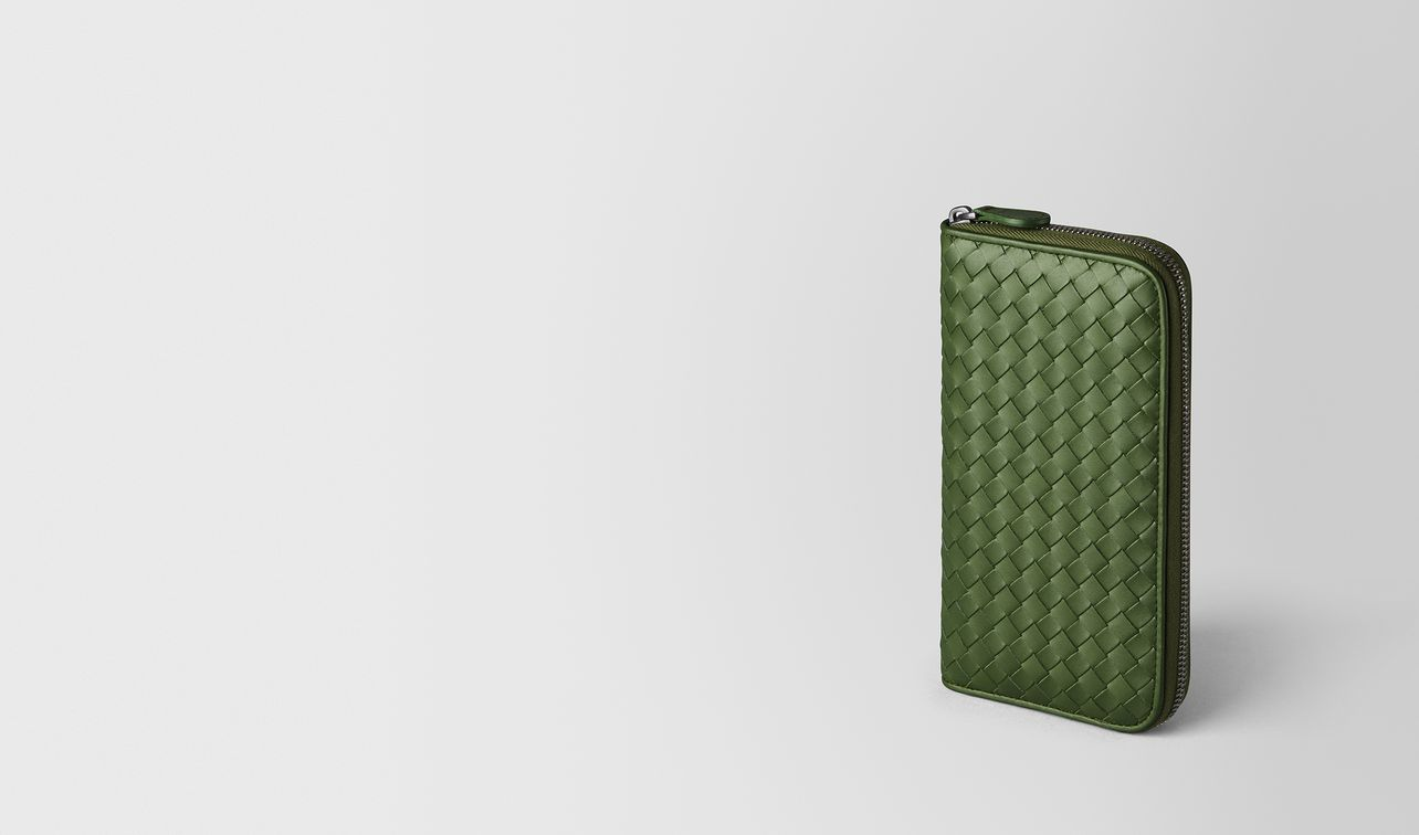 fern intrecciato vn zip around wallet landing