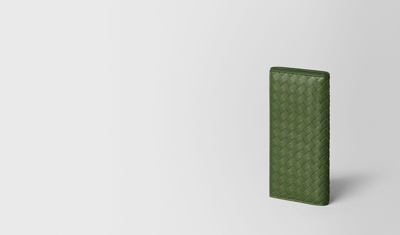 continental portemonnaie aus intrecciato vn in fern landing