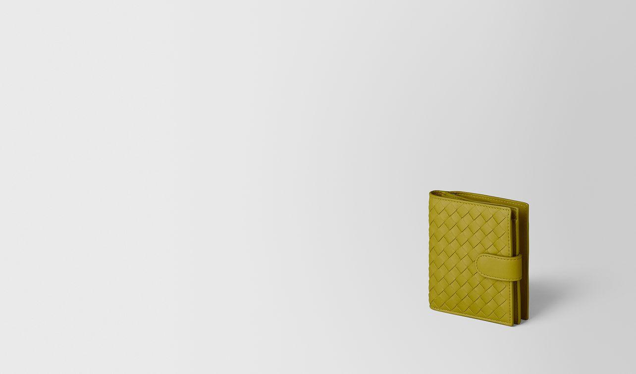 chamomile intrecciato nappa mini wallet landing