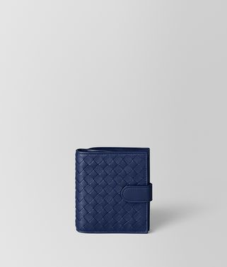 ATLANTIC INTRECCIATO NAPPA MINI WALLET