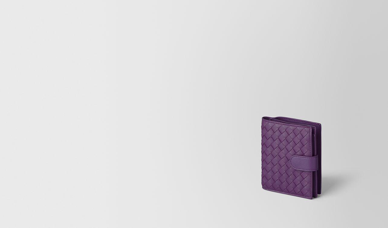 monalisa intrecciato nappa mini wallet landing