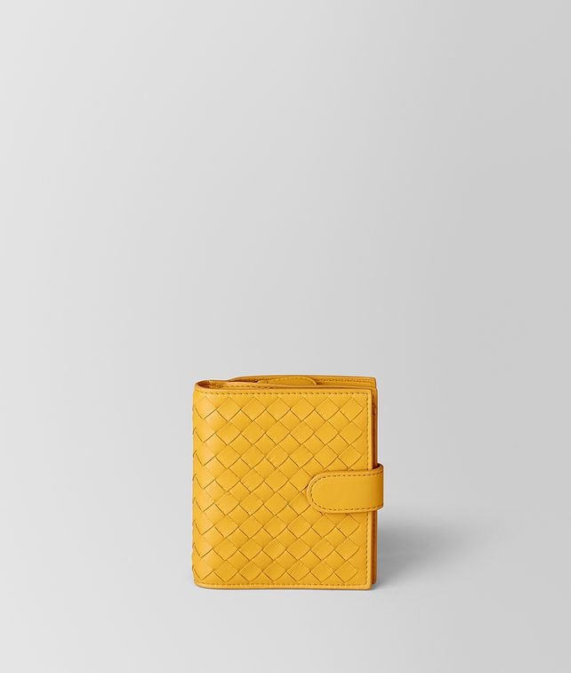 BOTTEGA VENETA SUNSET INTRECCIATO NAPPA MINI WALLET Mini Wallet Woman fp