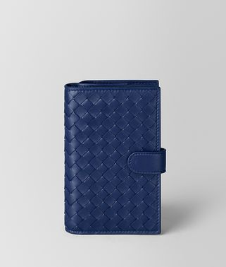 ATLANTIC INTRECCIATO NAPPA FRENCH WALLET