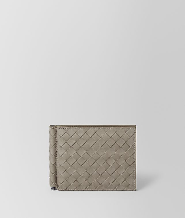 BOTTEGA VENETA DARK CEMENT INTRECCIATO VN WALLET Small Wallet Man fp