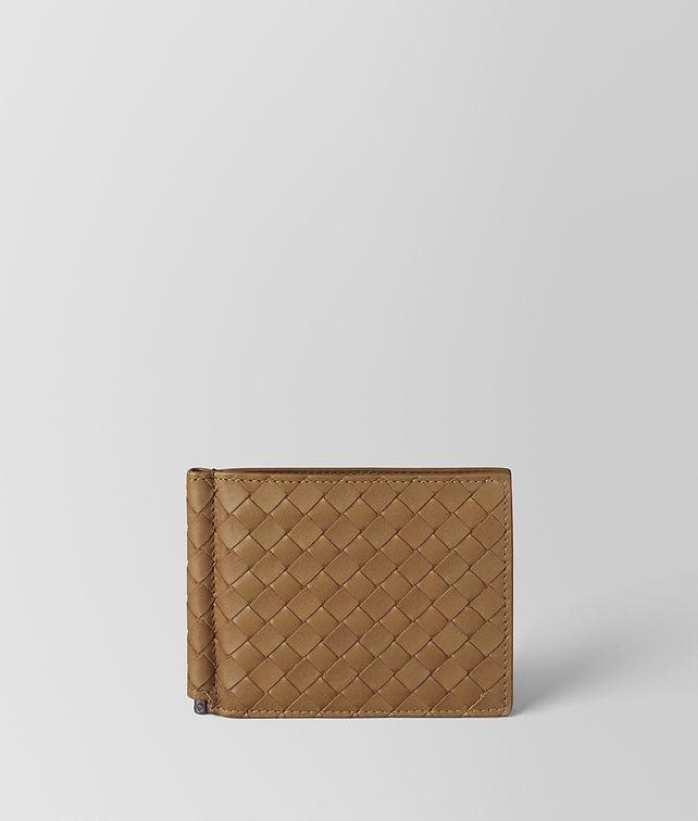 BOTTEGA VENETA CAMEL INTRECCIATO VN WALLET Bi-fold Wallet [*** pickupInStoreShippingNotGuaranteed_info ***] fp