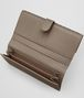 BOTTEGA VENETA LIMESTONE INTRECCIATO NAPPA FRENCH WALLET Continental Wallet Woman ap