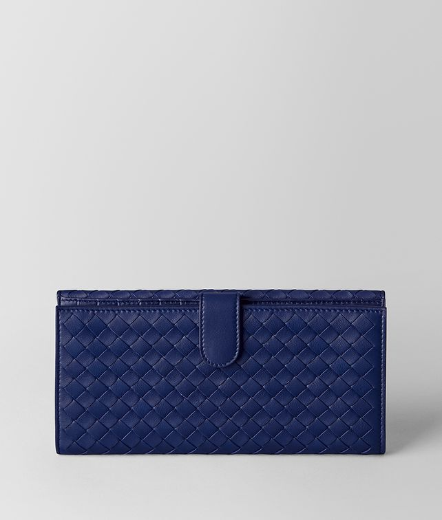 BOTTEGA VENETA ATLANTIC INTRECCIATO NAPPA FRENCH WALLET Continental Wallet [*** pickupInStoreShipping_info ***] fp