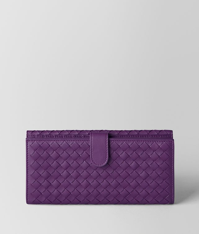 BOTTEGA VENETA MONALISA INTRECCIATO NAPPA FRENCH WALLET Continental Wallet Woman fp
