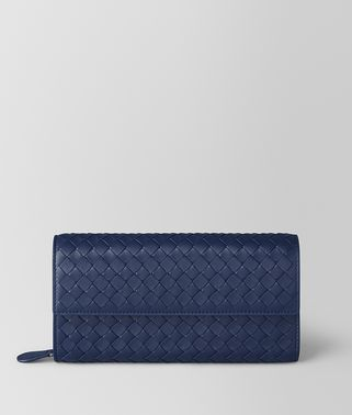 ATLANTIC INTRECCIATO NAPPA CONTINENTAL WALLET