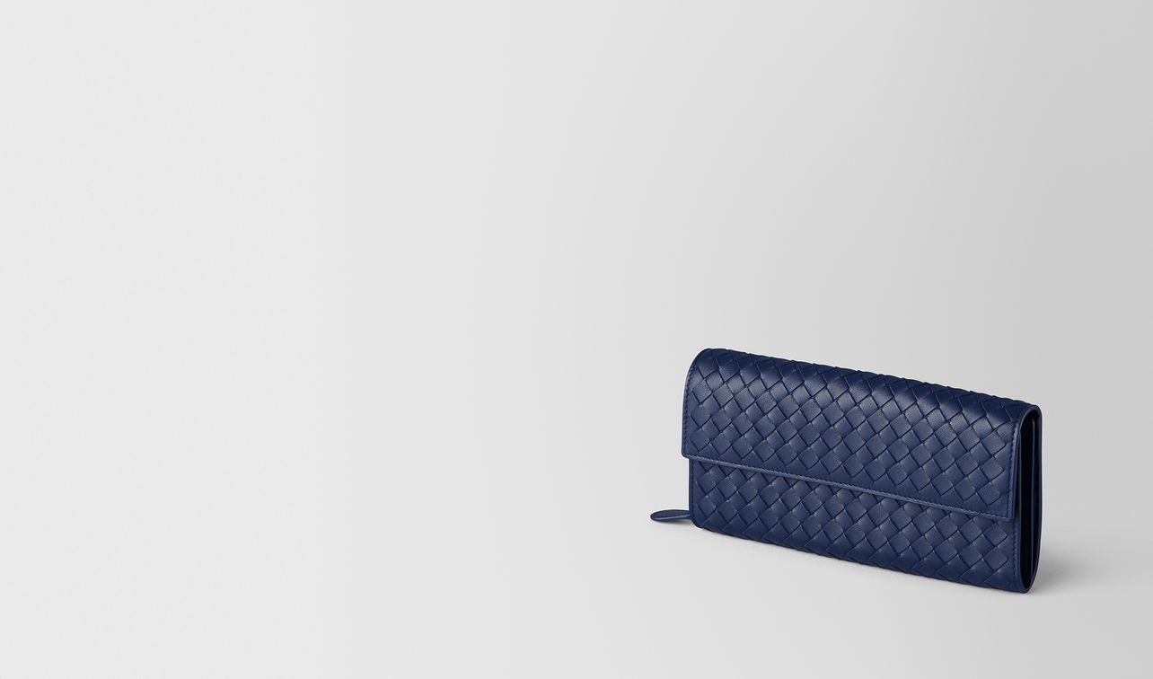 atlantic intrecciato nappa continental wallet landing