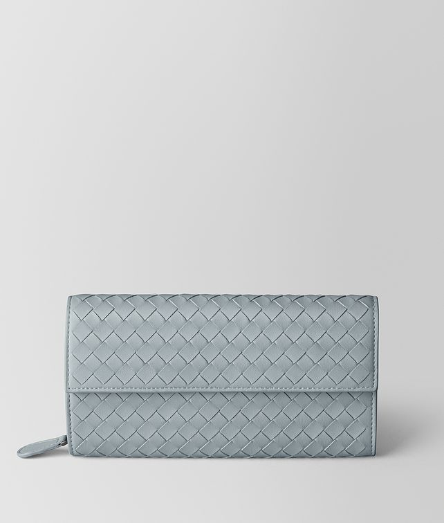 BOTTEGA VENETA ARCTIC INTRECCIATO NAPPA CONTINENTAL WALLET Large Wallet [*** pickupInStoreShipping_info ***] fp