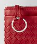 BOTTEGA VENETA CHINA RED INTRECCIATO NAPPA KEY HOLDER Keyring or Bracelets E ep
