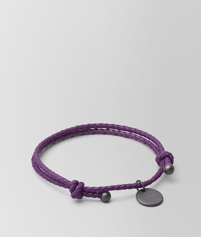 BOTTEGA VENETA MONALISA INTRECCIATO NAPPA BRACELET Keyring or Bracelets E fp