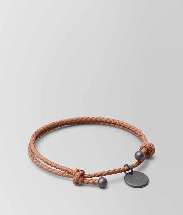 BOTTEGA VENETA DAHLIA INTRECCIATO NAPPA BRACELET Keyring or Bracelets E fp