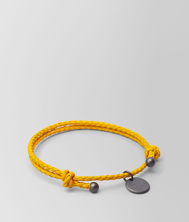 BOTTEGA VENETA SUNSET INTRECCIATO NAPPA BRACELET Keyring or Bracelets E fp