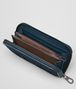 BOTTEGA VENETA DENIM/TOURMALINE NAPPA ZIP AROUND WALLET Zip Around Wallet Man ap