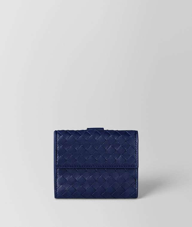 BOTTEGA VENETA ATLANTIC INTRECCIATO NAPPA MINI WALLET Small Wallet Woman fp